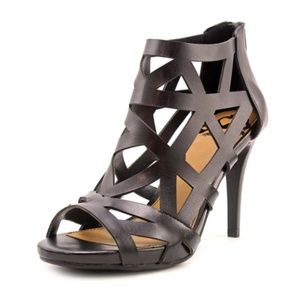 Women's Black Sandals by Fergalicious - Histeria